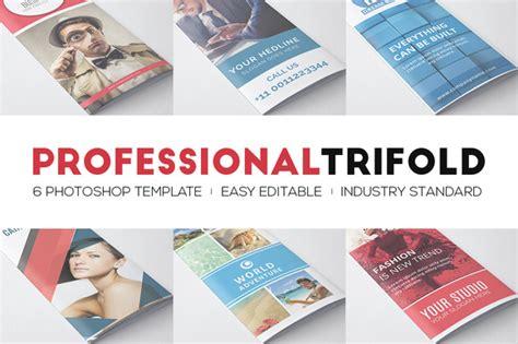 Professional Brochure Templates Creative Cloud By Professional Trifolds Bundle Brochure Templates On