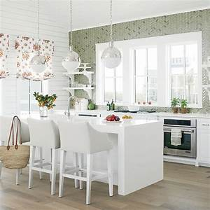 designer kitchen ideas video coastal living With kitchen colors with white cabinets with nautical outdoor wall art