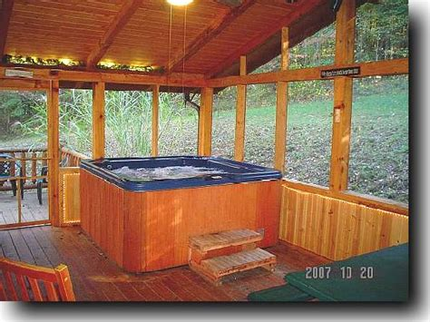 Log Cabin Tub by Brown County Log Cabin Rental Nashville In Hottub Fireplace