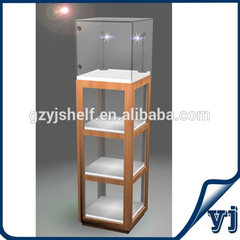 cabinet lights led jewelry display lighting 4 stand glass