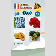 Learn Fruits In French  Android Apps On Google Play