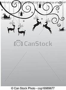 Vectors Illustration of Christmas new year storefront