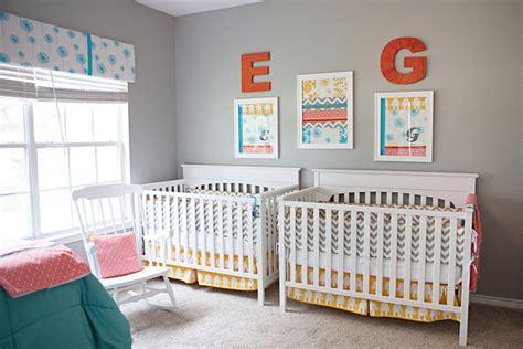 Gender-neutral Nursery Decor For Twins