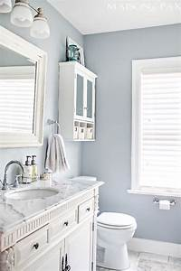 25 decor ideas that make small bathrooms feel bigger With assorted bathroom color ideas bathroom