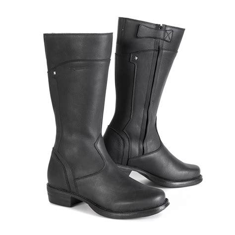 female motorbike boots stylmartin sharon women 39 s motorcycle boots black 24helmets