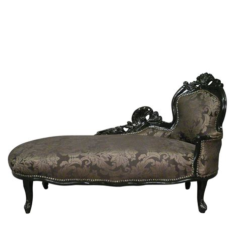 chaise style baroque chaise longue baroque black baroque furniture