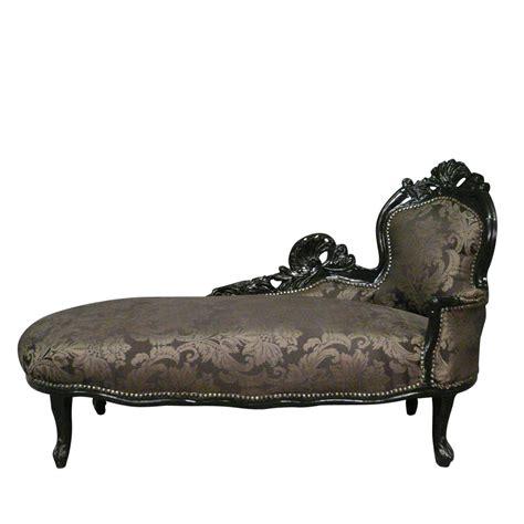chaises baroques chaise longue baroque black baroque furniture