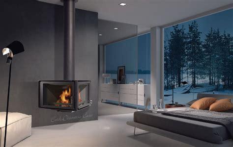 ventilation chambre cheminée metallique au bois de suspendue à un prix
