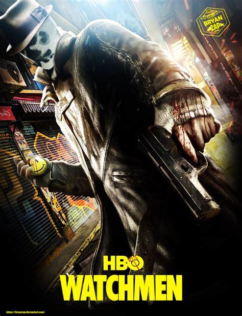 hbo watchmen rorschach poster  bryanzap  deviantart