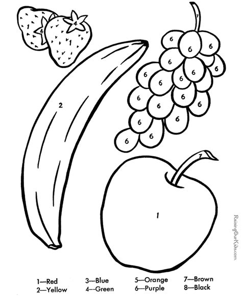 Coloring Pages Preschool Worksheet Printables Color By Number, Learning Coloring Pages For