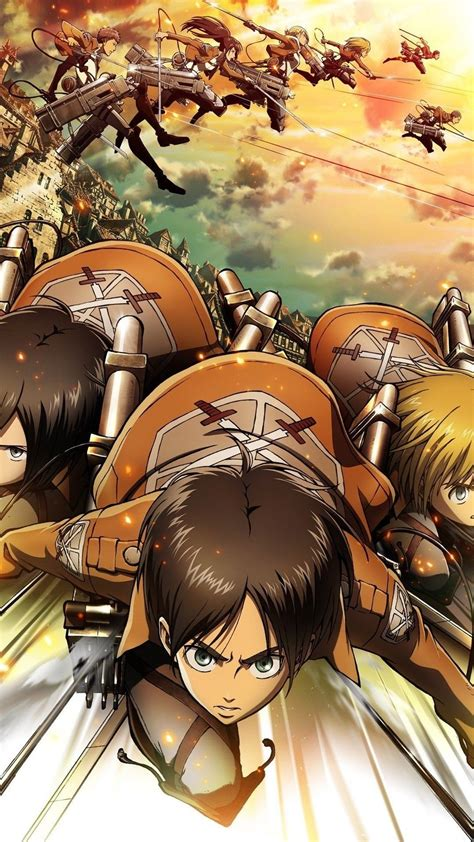 Become a really fan of attack on titan with your favorite heroenjoy the largest high quality wallpapers hd4k now you can customize your smart phone with arena battle wallpapers to be a real fan. Attack on Titan iOS Wallpaper (76+ images)