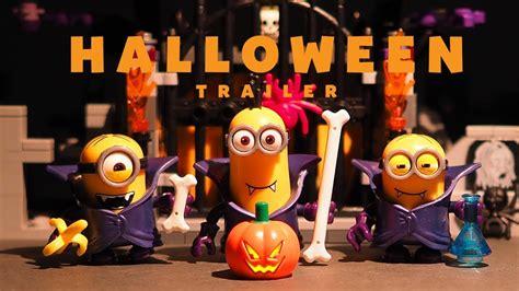 Minions Halloween 2017 Trailer • Stop Motion
