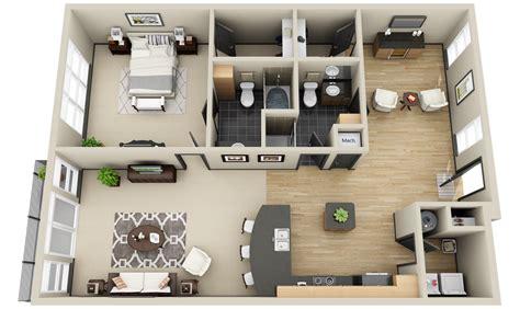 2_apartments And Condos « 3dplans.com