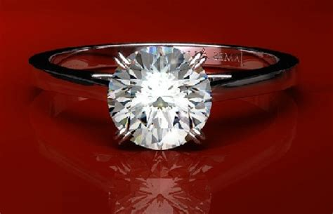 popular solitaire diamond engagement rings latest designs