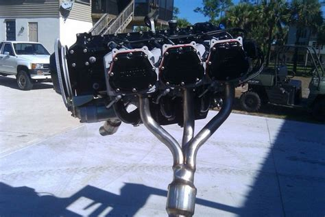 Airboat Exhaust by 0540 Headers Southern Airboat