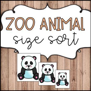 zoo animal size sort    images zoo animals