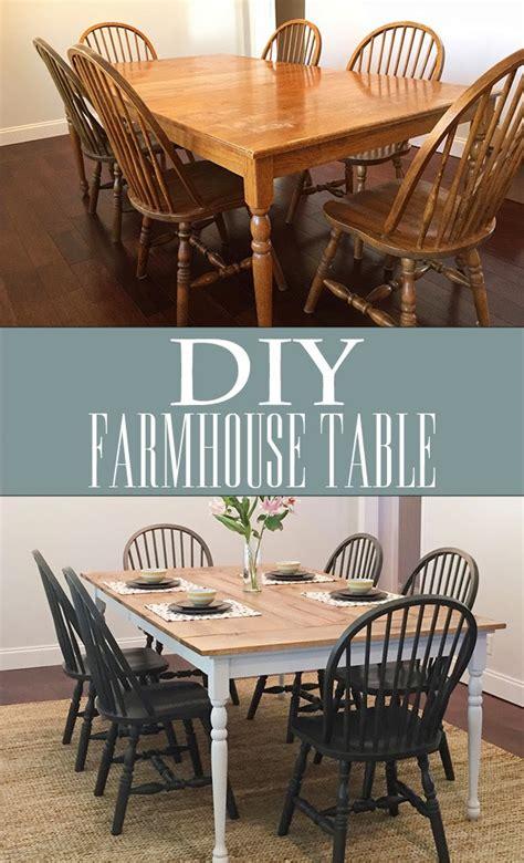 diy farmhouse table less than of bliss
