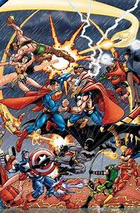 Dc vs Marvel, great cover pitching marquee matchups ...