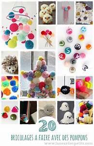 Bricolage A Faire Avec Des Petit : que faire avec des pompons 20 id es pour s 39 inspirer la ~ Melissatoandfro.com Idées de Décoration