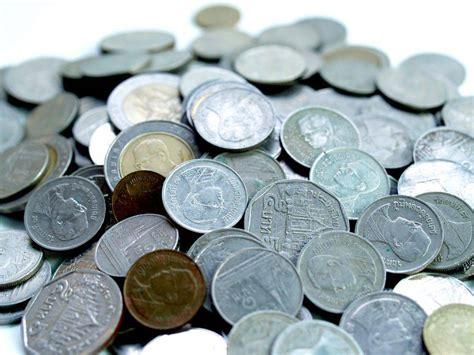 รูปภาพฟรี เงินเหรียญบาทไทย
