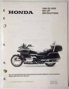 1994 Gl1500 I Gold Wing Interstate Set