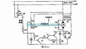 Satellite Receiver Antenna Servo Control Circuit - Remote Control Circuit