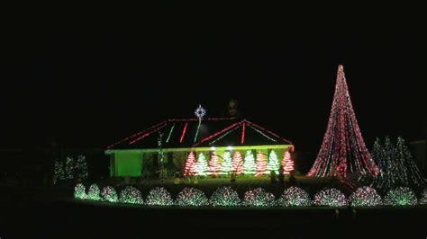 peabody christmas light show 2013 savannah carol of