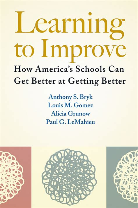 Learning To Improve How America's Schools Can Get Better At Getting Better Carnegie