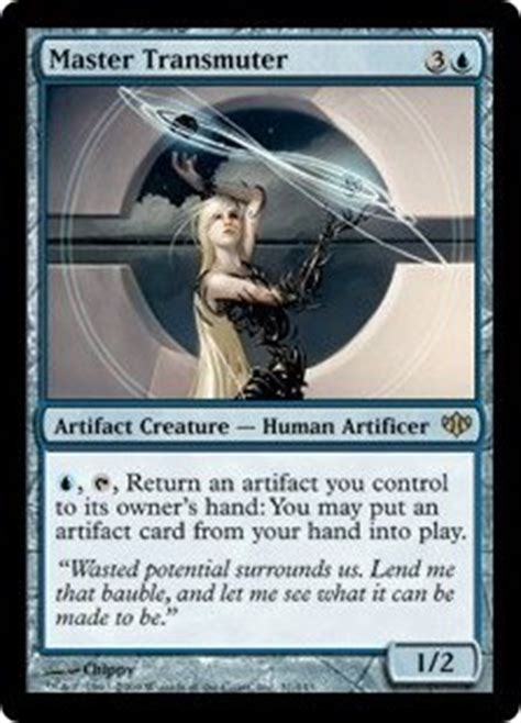 Blue Artifact Commander Deck by What Is The Most Beautiful Card In Magic The Gathering