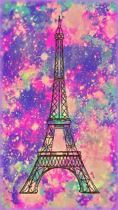 Girly Pink Eiffel Tower Wallpapers Glitter Paris