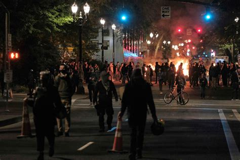 Dhs Chief Denounces 'lawless Anarchists In Portland Amid