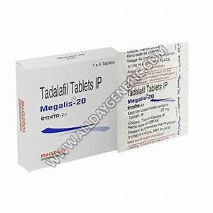 Megalis 20 Mg  Tadalafil Online  What Is Tadalafil