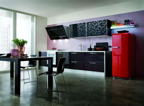 cuisine brillante cuisine plan de travail bois