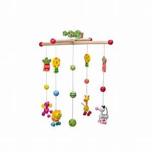 Mobile Pour Bébé : mobile pour b b en bois safari ~ Teatrodelosmanantiales.com Idées de Décoration
