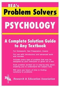 Download Now  Psychology Problem Solver  Problem Solvers