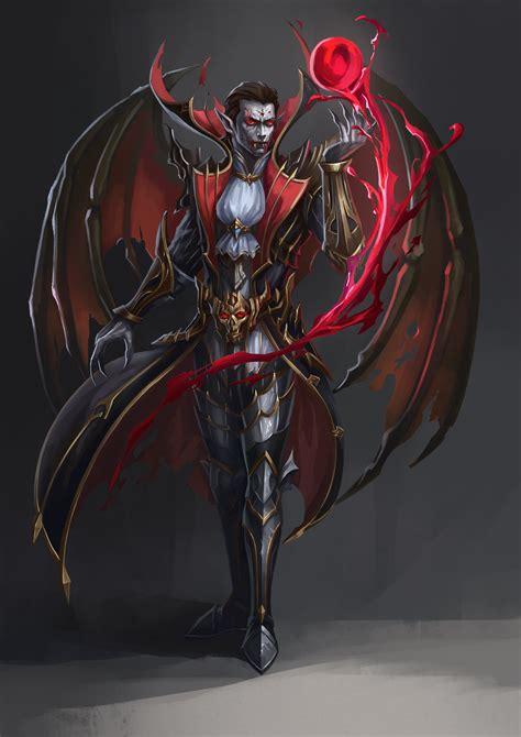 fallensouls character fantasy demon vampire art dark