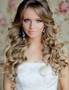 Long Curly Hairstyles To The Side - HAIRSTYLE IDEAS MAGAZINE
