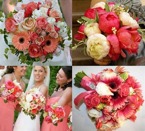 Bonnieprojects Coral Bouquet Inspiration