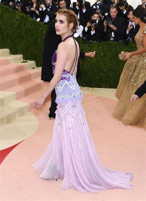 Emma Roberts – Met Costume Institute Gala 2016 in New York ...