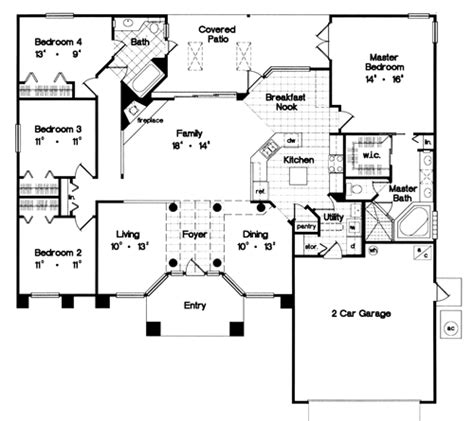 Tuscany 3984  4 Bedrooms And 25 Baths  The House Designers