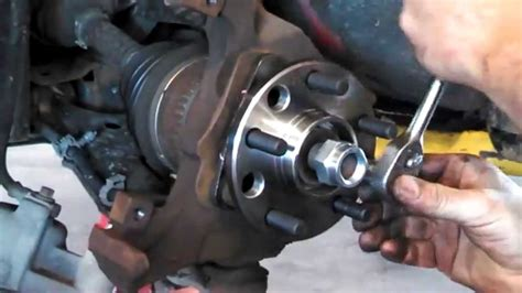 Hub assembly wheel bearing replacement Chevrolet Cavalier ...