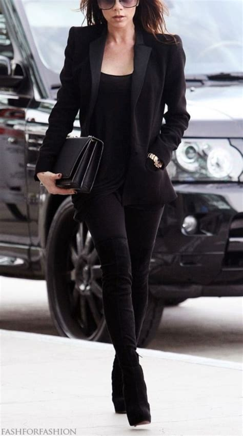 40 Stunning ALL BLACK Outfits For Women - Stylishwife