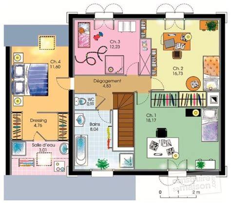 plans maisons plain pied 3 chambres maison de ville dé du plan de maison de ville