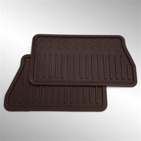rear floor mats floor mats all weather rear gm 19300743