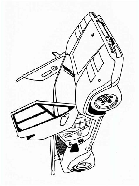 muscle car coloring pages  printable muscle car coloring pages