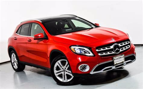 Iseecars.com analyzes prices of 10 million used cars daily. Certified Pre-Owned 2019 Mercedes-Benz GLA 250 4MATIC SUV | Jupiter Red U17078A