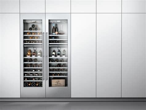 frigo cave a vin integre gaggenau pr 233 sente ses nouveaux appareils de froid int 233 grables vario s 233 rie 400 bien choisir mon