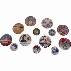 NASA STS Space Shuttle Buttons from suzieqs on Ruby Lane