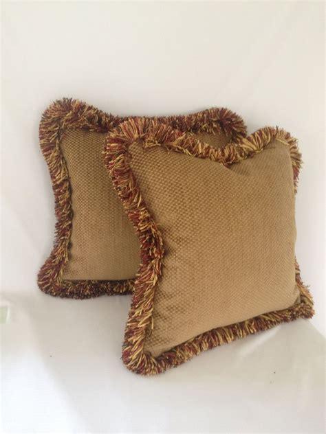 hand  tan velvet checker board pattern velvet pillow
