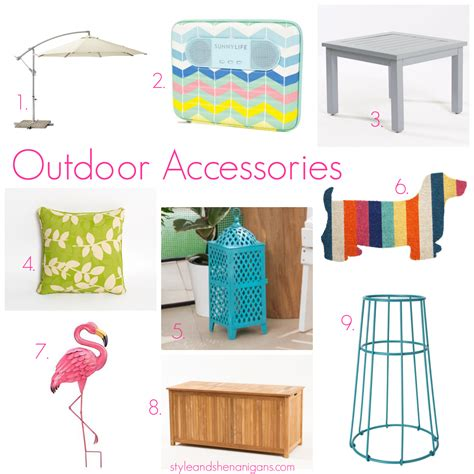 Outdoor Entertaining Outdoor Furniture & Accessories
